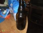 butelka po piwie PRL