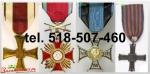 Kupię stare ordery, medale, odznaki, oznaczenia, orzełki