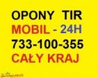Wulkanizacja mobilna TIR 24h Tel: 733-100-355